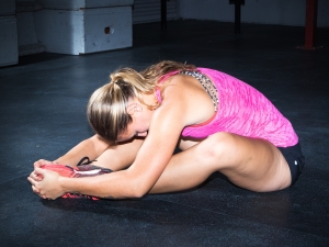Extended Butterfly Yoga Pose