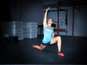 Extended Low Lunge Yoga Pose