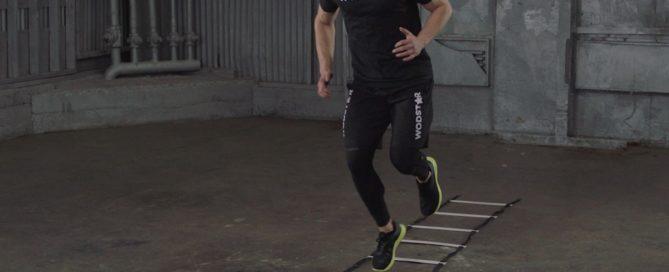 Single Leg Hops Plyometric Drill
